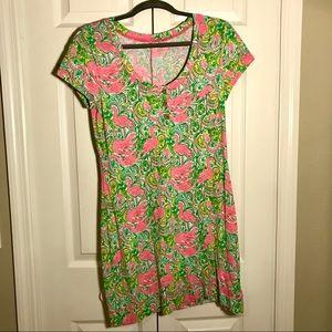 Lilly Pulitzer short sleeve resort t-shirt dress